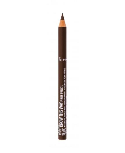 Rimmel London Brow This Way Fibre Pencil Kredka do brwi 1,08g 002 Medium