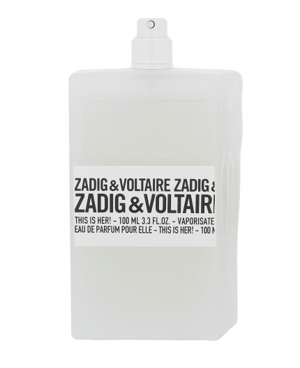 Zadig & Voltaire This is Her! Woda perfumowana 100ml tester