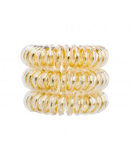 Invisibobble The Traceless Hair Ring Gumka do włosów 3szt You´re Golden