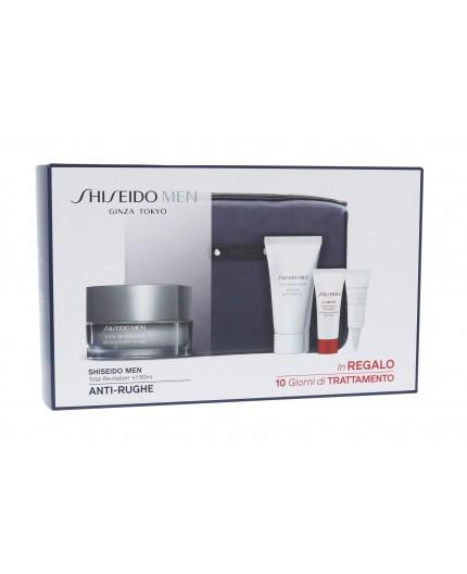 Shiseido MEN Total Revitalizer Krem do twarzy na dzień 50ml zestaw upominkowy