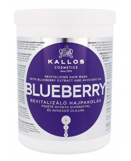 Kallos Cosmetics Blueberry Maska do włosów 1000ml