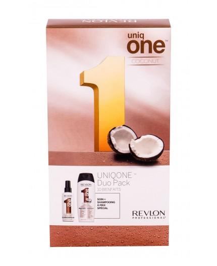 Revlon Professional Uniq One Coconut Maska do włosów 150ml zestaw upominkowy