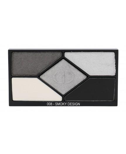 Christian Dior 5 Couleurs Designer Cienie do powiek 4,4g 008 Smoky Design tester