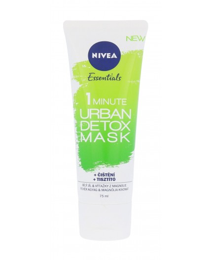 Nivea Essentials 1 Minute Urban Detox Mask Maseczka do twarzy 75ml