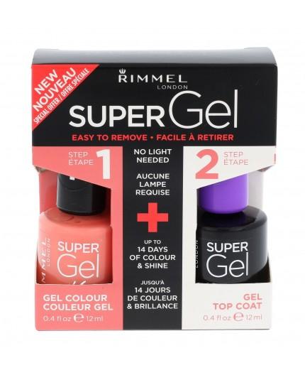 Rimmel London Super Gel By Kate Lakier do paznokci 12ml 031 Perfect Posy zestaw upominkowy