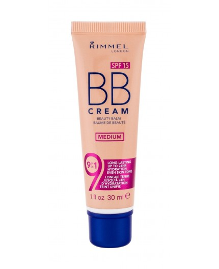 Rimmel London BB Cream 9in1 SPF15 Krem BB 30ml Medium
