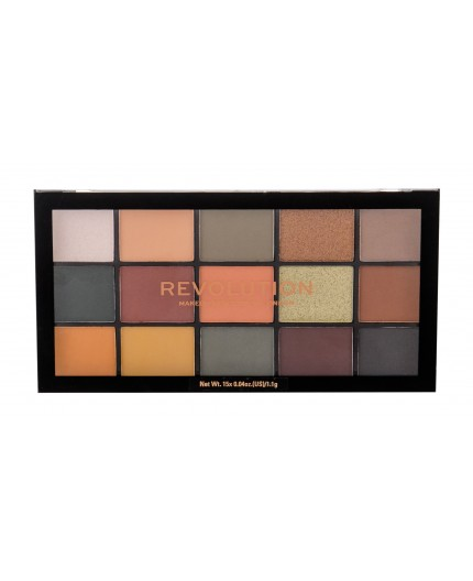 Makeup Revolution London Re-loaded Cienie do powiek 16,5g Iconic Division