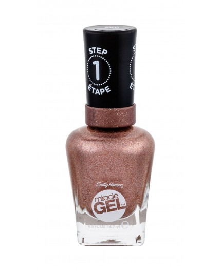 Sally Hansen Miracle Gel STEP1 Lakier do paznokci 14,7ml 660 Terra-Coppa