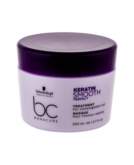 Schwarzkopf BC Bonacure Keratin Smooth Perfect Maska do włosów 200ml