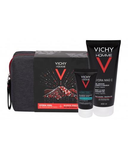 Vichy Homme Hydra Cool  Żel do twarzy 50ml zestaw upominkowy