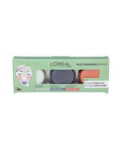 L´Oréal Paris Pure Clay Purity Mask Maseczka do twarzy 10ml zestaw upominkowy