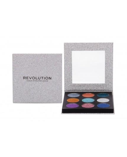 Makeup Revolution London Pressed Glitter Cienie do powiek 13,5g Illusion