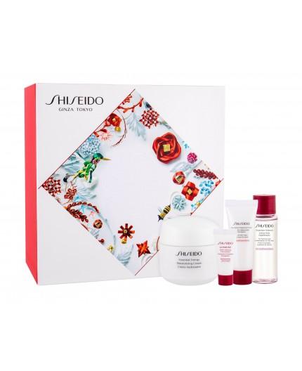 Shiseido Essential Energy Moisturizing Cream Krem do twarzy na dzień 50ml zestaw upominkowy