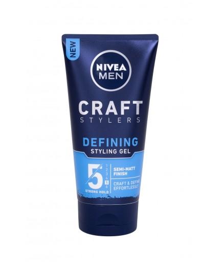 Nivea Men Craft Stylers Defining Semi-Matt Żel do włosów 150ml