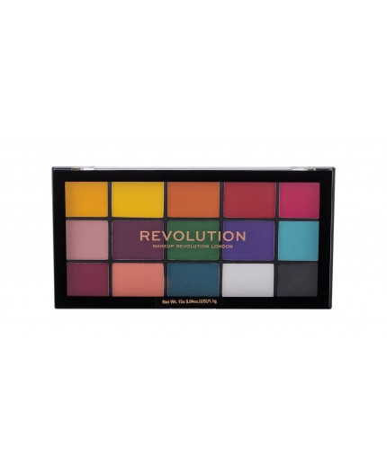 Makeup Revolution London Re-loaded Cienie do powiek 16,5g Marvellous Mattes