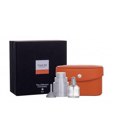 The Different Company Travel Set Orange Flakon z możliwością napełnienia 10ml zestaw upominkowy