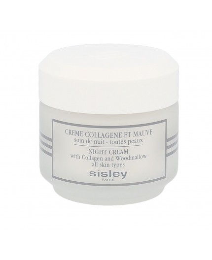 Sisley Night Cream With Collagen And Woodmallow Krem na noc 50ml