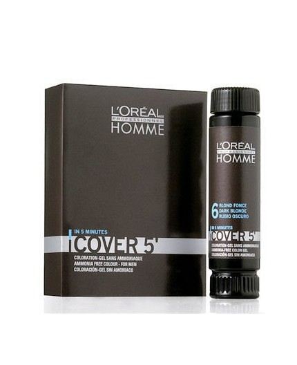 L´Oréal Professionnel Homme Cover 5´ Farba do włosów 3x50ml 2 Brown