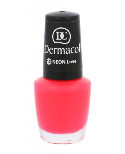 Dermacol Neon Lakier do paznokci 5ml 12 Love