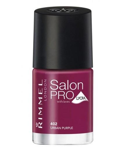 Rimmel London Salon Pro Lakier do paznokci 12ml 402 Urban Purple
