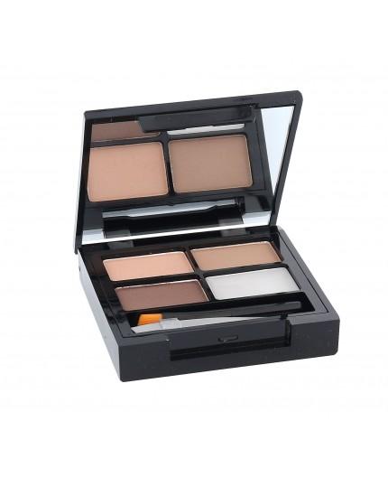 Makeup Revolution London Focus & Fix Eyebrow Shaping Kit Zestawy i palety do brwi 5,8g Light Medium