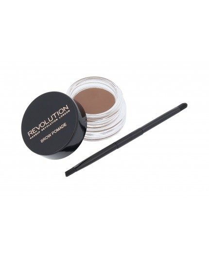 Makeup Revolution London Brow Pomade Żel i pomada do brwi 2,5g Soft Brown