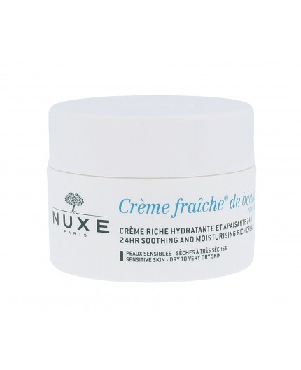 NUXE Creme Fraiche de Beauté 24HR Soothing Rich Cream Krem do twarzy na dzień 50ml