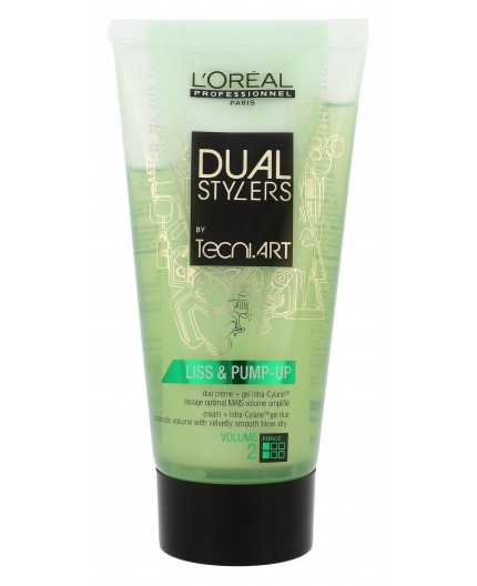 L´Oréal Professionnel Dual Stylers Liss & Pump-Up Żel do włosów 150ml