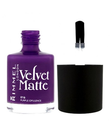 Rimmel London Velvet Matte Lakier do paznokci 12ml 017 Matte-itude