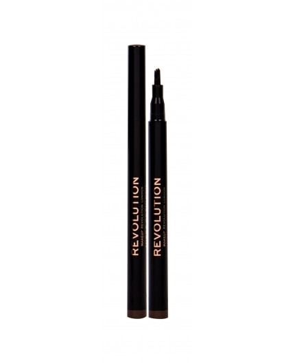 Makeup Revolution London Micro Brow Pen Kredka do brwi 1ml Medium Brown