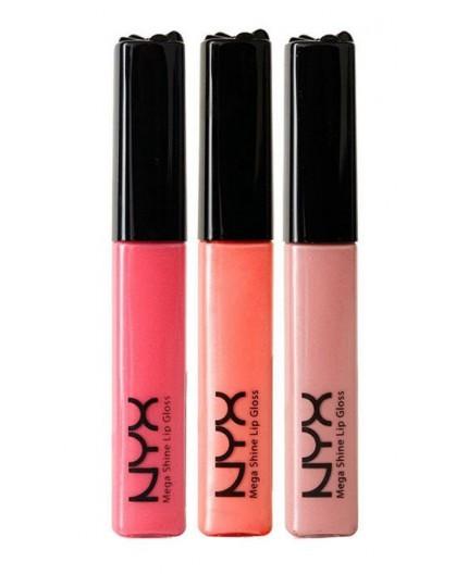 NYX Professional Makeup Mega Shine Błyszczyk do ust 11ml 131 Gold Pink