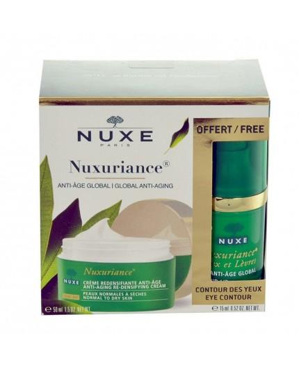 NUXE Nuxuriance Anti-Aging Day Cream Krem do twarzy na dzień 50ml zestaw upominkowy