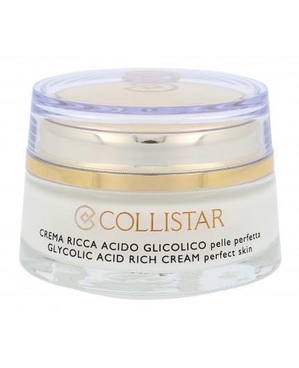Collistar Pure Actives Glycolic Acid Rich Cream Krem do twarzy na dzień 50ml tester