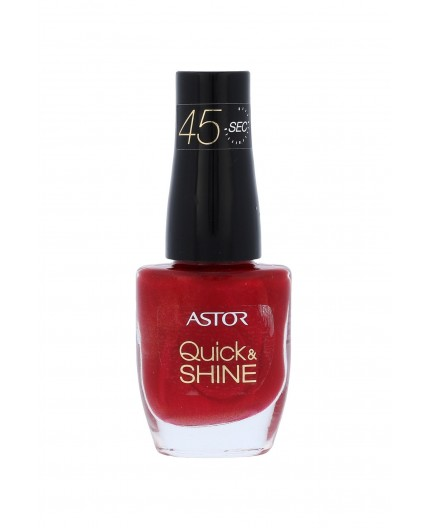 ASTOR Quick & Shine Lakier do paznokci 8ml 306 Red Letter Day