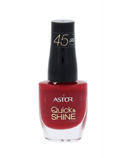 ASTOR Quick & Shine Lakier do paznokci 8ml 301 Valentine´s Day