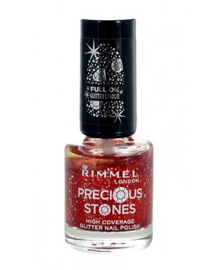 Rimmel London Precious Stones Glitter Lakier do paznokci 8ml 001 Diamond Dust