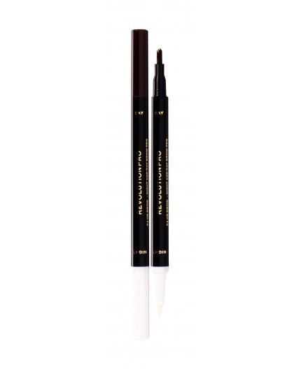 Makeup Revolution London Revolution PRO Day & Night Brow Pen Kredka do brwi 1,6ml Dark Brown