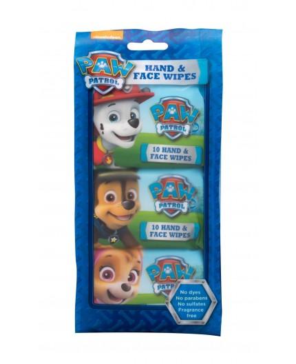 Nickelodeon Paw Patrol Hand & Face Wipes Chusteczki oczyszczające 30szt