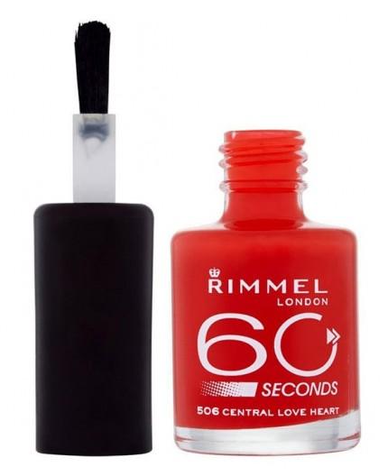 Rimmel London 60 Seconds Lakier do paznokci 8ml 844 Out Of The Blue