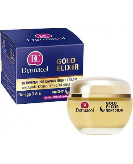 Dermacol Gold Elixir Krem na noc 50ml