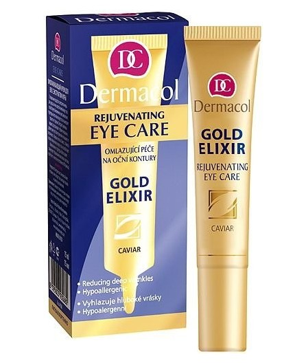 Dermacol Gold Elixir Rejuvenating Eye Care Krem pod oczy 15ml