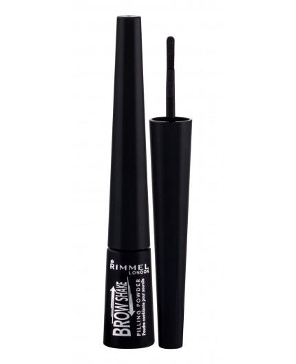 Rimmel London Brow Shake Filling Powder Puder do brwi 0,7g 004 Soft Black