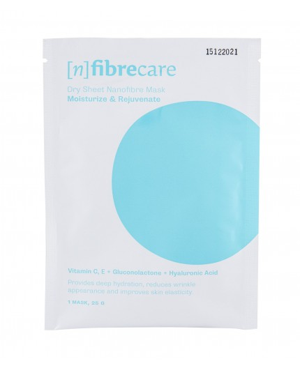 [n]Fibrecare Nanofibre Face Mask Moisturize & Rejuvenate Maseczka do twarzy 1szt