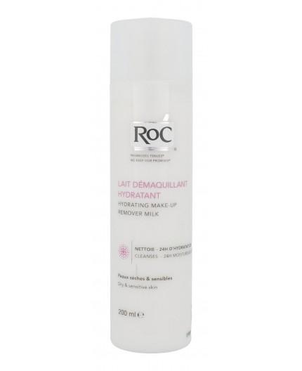 RoC Hydrating Make-Up Remover Milk Demakijaż twarzy 200ml tester