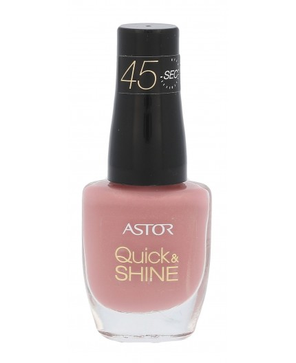 ASTOR Quick & Shine Lakier do paznokci 8ml 619 Pink Cupcake