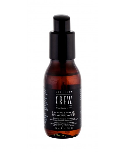 American Crew Shaving Skincare Ultra Gliding Shave Oil Olejek do zarostu 50ml