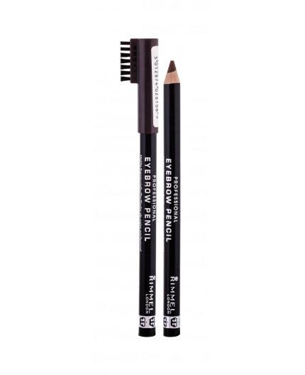Rimmel London Professional Eyebrow Pencil Kredka do brwi 1,4g 001 Dark Brown