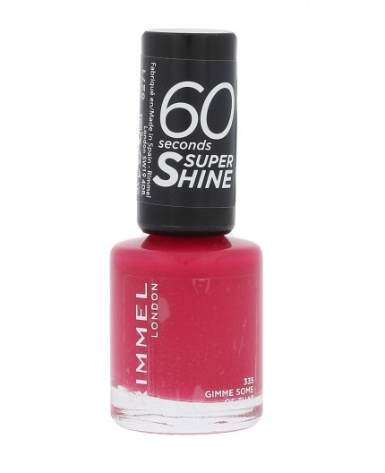 Rimmel London 60 Seconds Super Shine Lakier do paznokci 8ml 335 Gimme Some Of That