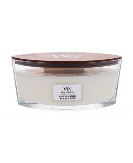 WoodWick White Tea & Jasmine Świeczka zapachowa 453,6g