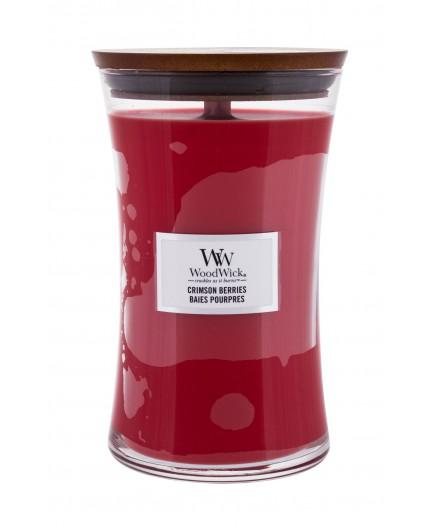 WoodWick Crimson Berries Świeczka zapachowa 610g